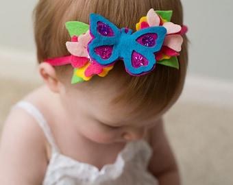 Baby garden headband