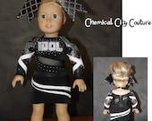 May 10th, 2016 American Girl Doll Custom Cheer Uniform