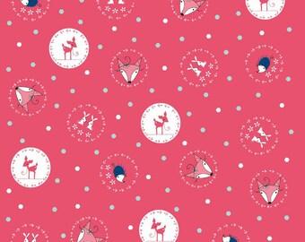 Little Folk Pink: Natalie Lymer - Enchant Collection 1 Yard Cut