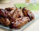 Tangy Baked Wings Recipe