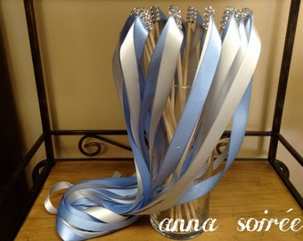 Wedding Ceremony Ribbon Wands - Instead of Wedding Bubbles