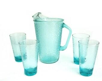 Plastic sangria pitcher and glasses louisiana bucket brigade - Plastic sangria glasses ...