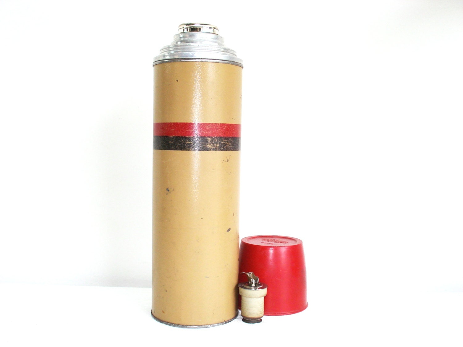 Vintage the american thermos bottle co thermos vacuum bottle - Thermos a the ...
