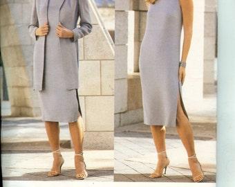 Vogue American Designer Anne Klein Jacket and Dress Pattern 2387 Size 18 20 22 Uncut