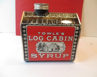 Vintage Towle's Log Cabin Bank NOS