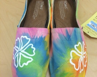 Tye Dye flower design