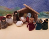 Mini Nativity set knitting pattern PDF