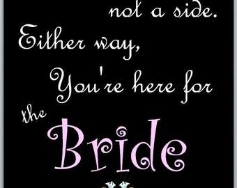 Custom Fonts Chalkboard Wedding Seating Sign w / PINK