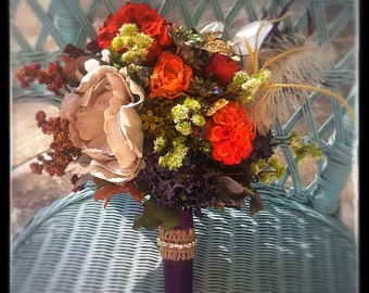 Burlap Combo Bouquet Stem Wraps