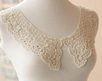 venise lace collar, 1  pcs item no ys615,  Lace Collar