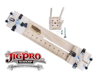 """10"""" Professional Paracord Jig With Multi-Monkey Fist Jig (3) In-One"""