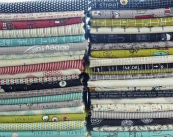 Road 15 by Sweetwater for Moda Fabrics One 40 Piece Fat Quarter Yard Bundle