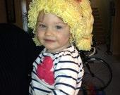Rag Doll Yarn Hair Hat