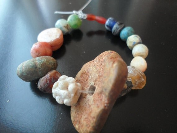 Lot 18 Authentic Ancient Beads From Different Origins