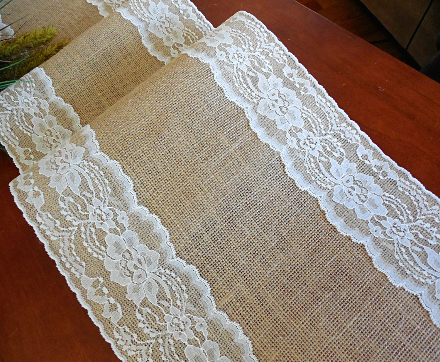 burlap table runner wedding table runner with vintage ivory burlap and lace barn burlap and lace background