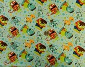 Monster Mash by Camelot Fabrics - Fabric By The Half Yard 18 inches x 44 inches