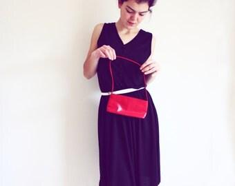 Vintage small Purse Handbag red indie fashion