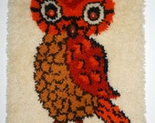 Vintage Owl Wall Hanging