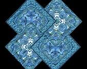 Trivet based on Quilt Design