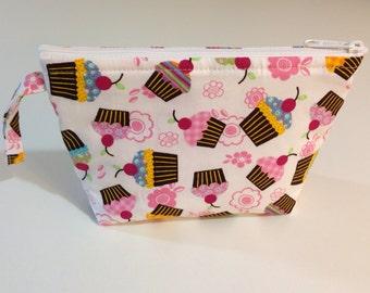 Mini Cupcakes Make Up Bag - Accessory - Cosmetic Bag