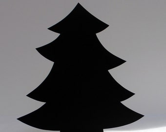 Christmas Tree Blackboard / Chalkboard