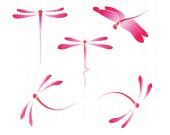 pink dragonfly on Etsy, a global handmade and vintage ...