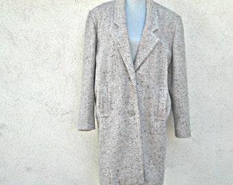 Vintage Woman's Coat, Peabody House, Jacket, Retro,Clothes, Winter Clothes,Tweed Fashions, 1970s Jacket, Long Jacket, Coat,Winter Clothing
