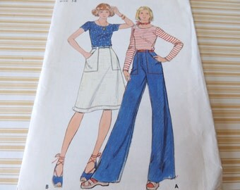 Butterick 4599 Top, Skirts and Pants Uncut size 14