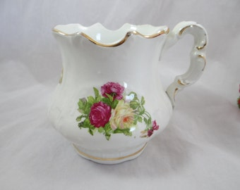 Antique East End Pottery Co. East Liverpool, Ohio  Small  Porcelain Pitcher