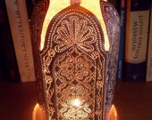 Rock the Casbah Copper Candle Lantern (for indoor or outdoor use)