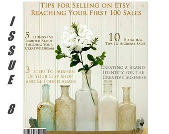 Handmadeology Magazine - Issue 8 - Shop Description Tips - Sections