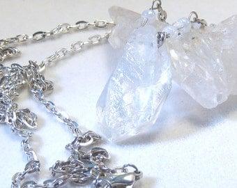 Angel Aura Nugget Necklace Bohemian Jewelry