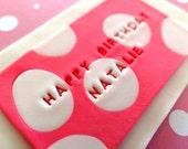 Fondant edible Happy Birthday and custom name sign - Birthday Cake Decoration,fondant cake toppers,custom banner,name plaque,birthday plaque