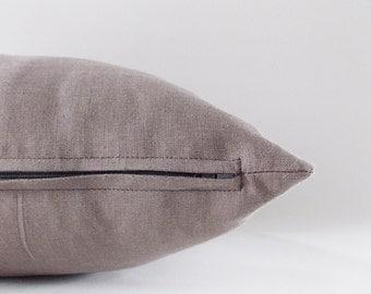 Ivory Linen Pillow, Cushion Cover, Throw Pillow, Decorative Linen Pillow, 16,18,20,22,24,26,28,30 inches
