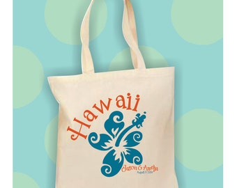 Hawaii destination wedding bag hawaii wedding favors for Destination wedding gift bags