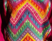 Vintage 80's Multi-Colored Ethnic Sweater