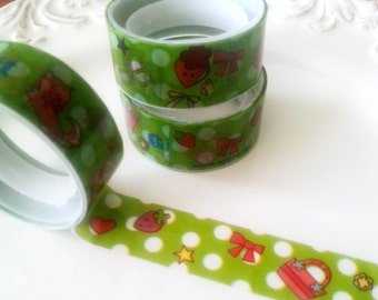 Deco tape kawaii green accessories