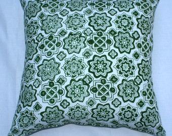 Grande Stars Avocado Pillow