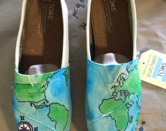 World Map TOMS