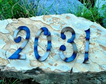 Address Numbers, House Numbers, Metal House Numbers