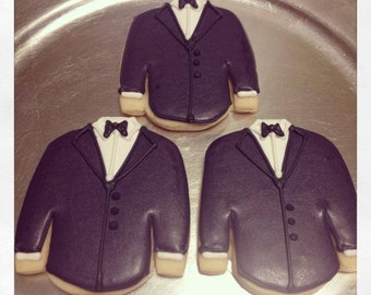 Groom/Tuxedo Cookies