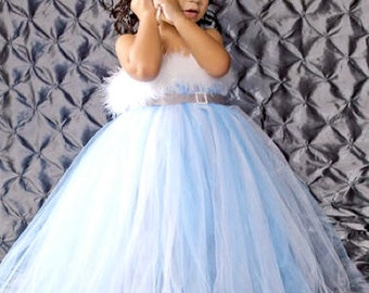 Winter Wonderland Dress, Blue Tutu Dress, Blue Tulle Dress, Winter Tutu Dress, Blue Tulle, Winder Wonderland by My Precious Tutu