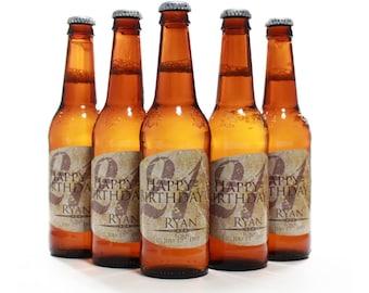 Custom Beer Bottle Labels, 21st Birthday, 21st Birthday Ideas, Custom Labels