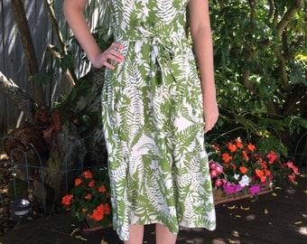 Vintage Hawaiian Sundress by Malia,Size Small