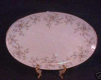 Mint Noritake Arlene 5802 pattern 14 3/8 in. Platter