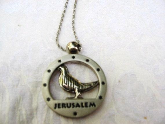 Jerusalem Necklace Israel Souvenir / Middle East / women / men / Star of David  / teens/ Judaica / jewelry / men's jewery / women's jewlery