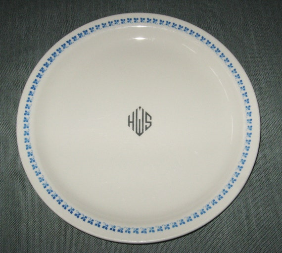 9-7/8 Dinner Plate Homer Laughlin Best China HWS Logo