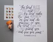 Prayer of Blessing.