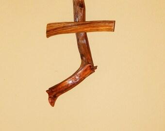 Dead Cedar Wood Cross