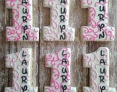 Number One Cookies/First Birthday